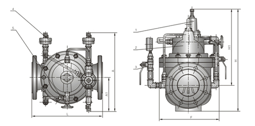 HC900X紧急关闭阀